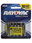 Alkaline Batteries 6 Pack  AAA